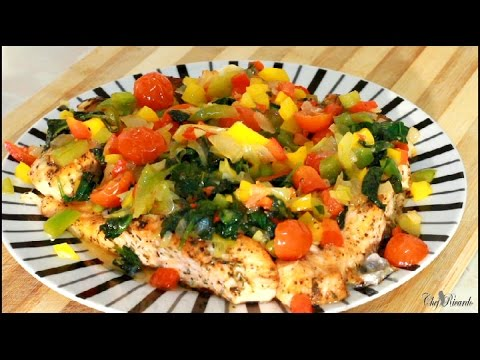 Easy Healthy Oven Baked Salmon | Recipes By Chef Ricardo