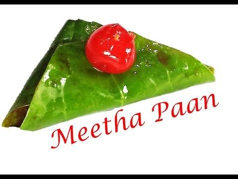 How to make Meetha Paan | Sweet Betal leaves by RinkusRasoi