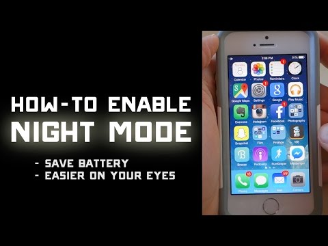 How to Enable Night Mode on iPhone