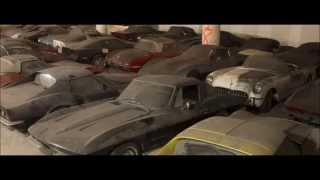 36 Corvettes found in underground building!