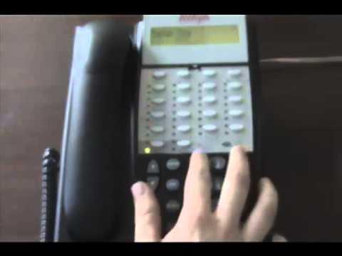 Avaya Partner - How to set up your telephone