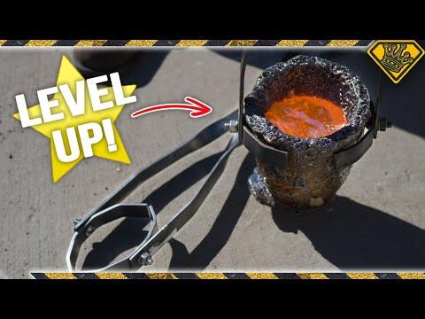 DIY Crucible Tongs