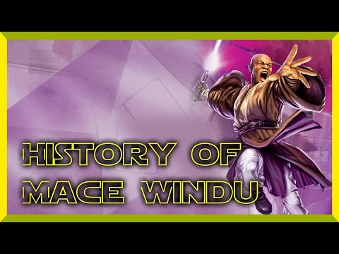 Star Wars History of Mace Windu