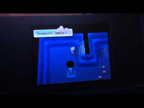 How To Catch Regigigas Pokemon Platinum/Diamond/Pearl