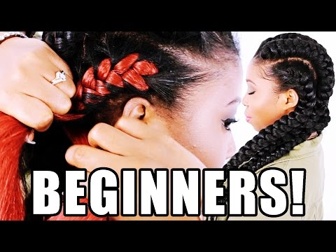 How To: Goddess Braids FOR BEGINNERS! (Step By Step)