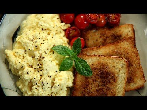 How To Make Perfect Scrambled Eggs | Fluffy Scrambled Eggs Recipe | Egg Recipes | Varun Inamdar