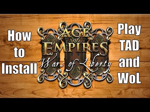 How to download Age of Empires 3 Wars of Liberty mod and how to install it