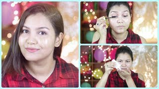 Easy Simple Everyday Makeup Tutorial/indiangirlchannel trisha