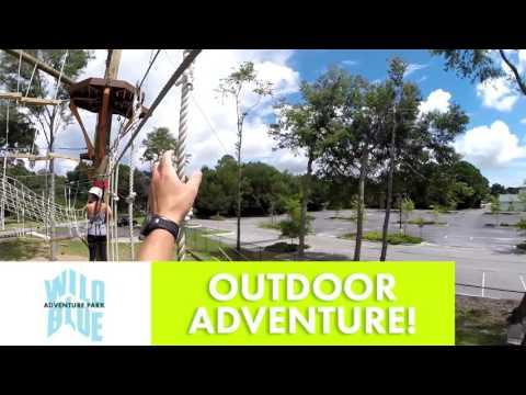 Visit Wild Blue Ropes Adventure Park - Charleston, SC