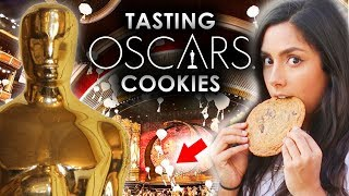 Trying The Cookies Served At The OSCARS 🍪