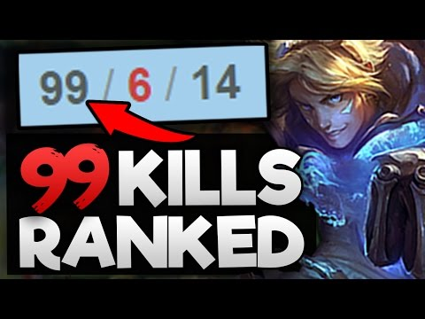 Placing a Challenger Player in a BRONZE game (GETS 99 KILLS IN RANKED)