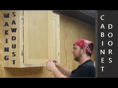 How to build shop cabinet doors
