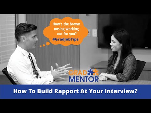 #4 - How To Build Rapport At Your Interview
