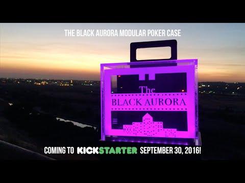 Introducing The Black Aurora Modular Poker Case