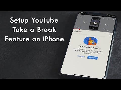 How to Use YouTube 'Take a Break' Feature on iPhone