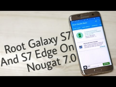 Install TWRP & Root 7 0 Nougat on Galaxy S7 and S7 Edge