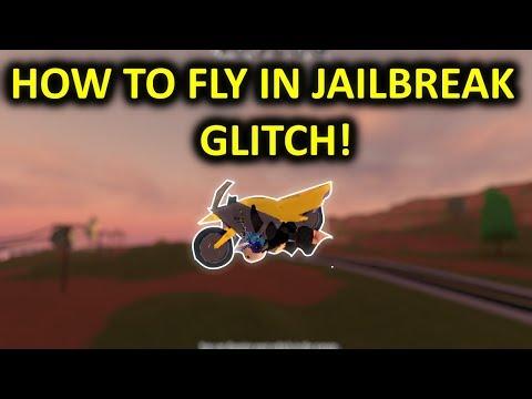 HOW TO FLY IN JAILBREAK GLITCH!// Roblox jailbreak