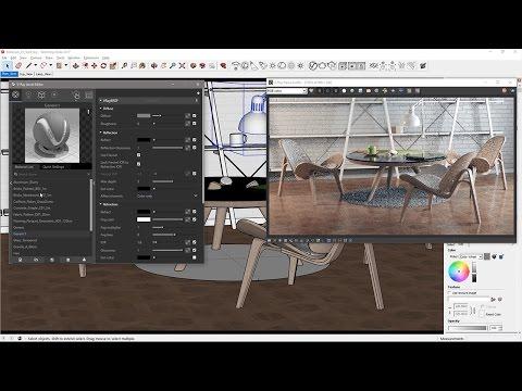 V-Ray for SketchUp – Quick Start: Materials