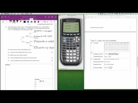 IB Maths Studies May 2015 Time Zone 1 Paper 1 Question 11