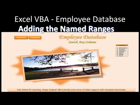 Excel Advanced Filter – Employee Database - Part 2