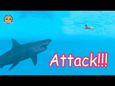 Shark  + Water Mermaids - Roblox Cookie Swirl C Game Video