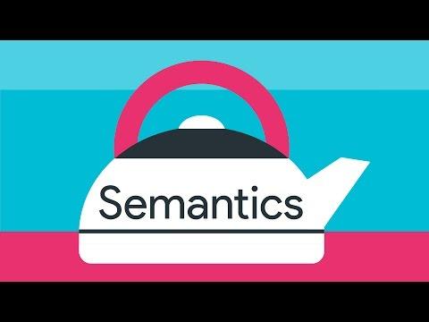 Why do semantics matter? -- #A11ycasts 08
