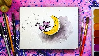 Рисунки на открытку