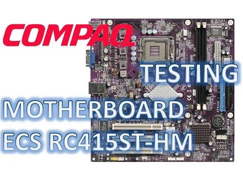 Motherboard ECS RC415ST-HM Alhena5 Chipset ATI Radeon Xpress 1100 Desktop Compaq and HP