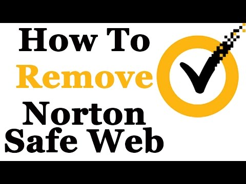 How To Completely Remove The Norton Safe Web Lite Toolbar