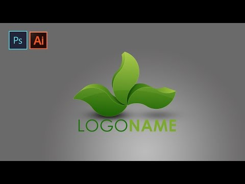 3D Logo Design   In Photoshop & Illustrator cc   Green