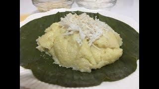 How to make Steam corn with coconut ( khmer dessert) ពោតចំហុយ