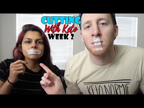 Mouth Taping | Keto Weight Loss Week 2 | Full Day of Eating