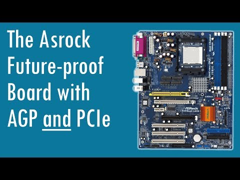 Asrock 939Dual SATA2 with AGP and PCIe for Future Proof