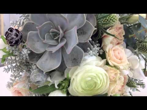 Flower Trends with Campbell's - Vintage Bride Bouquet with Succulents