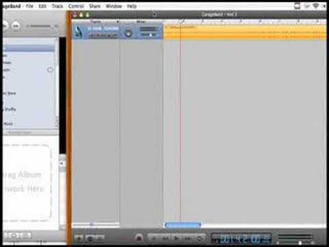 How import an MP3 in Garageband and record a vocal