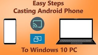 Cast Android's screen to PC or Laptop easily without