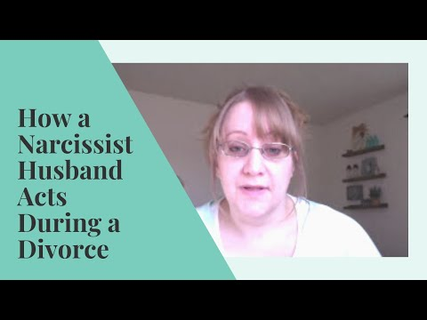How a NARCISSIST Husband ACTS During DIVORCE | Abuse Recovery