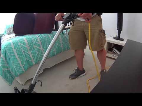 Cleaning light blue carpet with OXYGEN  Carpet VLOG