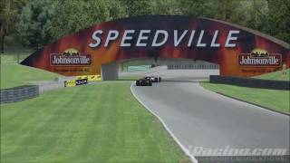 Iracing Indycar Road America Race Highlights [hd]