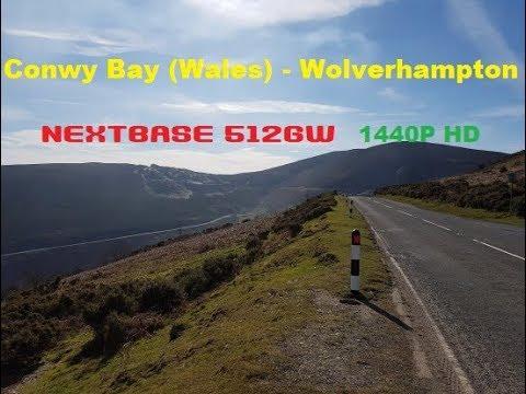 ConwyBay Llandudno to Wolverhampton   Nextbase 512GW 1440p