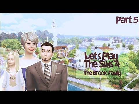 Let's Play The Sims 4   Brook   Part 5 - Sarah has a brother