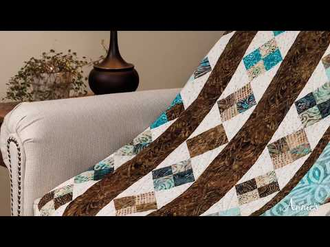 Learn to Make Easy Jelly Roll Quilts - an Annie's Video Class