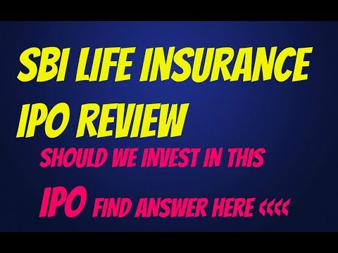 Sbi life insurance ipo review||should we invest in this ipo||comparison with ICICI Lombard IPO