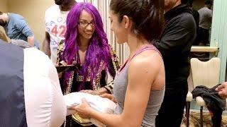 What Gift Did Bayley Give Sasha Banks Before WrestleMania?
