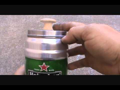 Heineken Coffee Pot Percolator