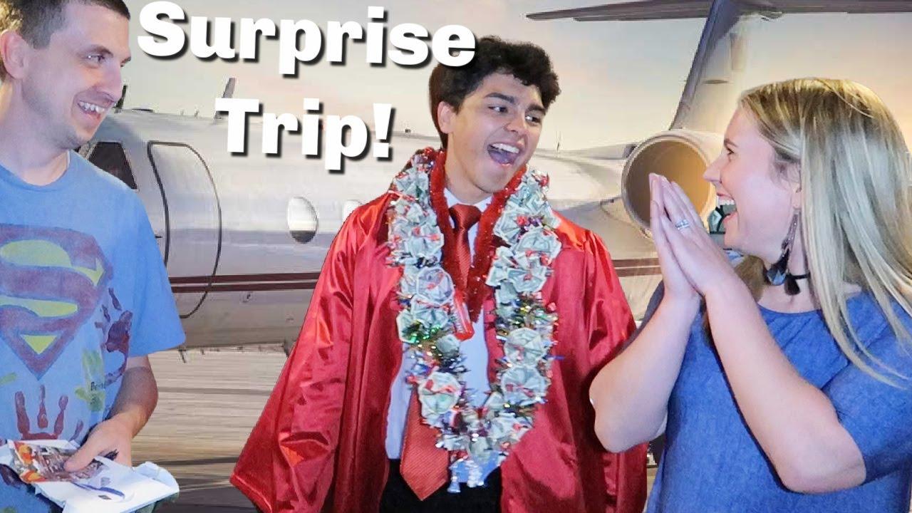 Surprise Graduation Trip | Graduation Day!