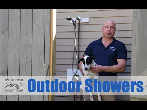 Masters Touch Design Build - Outdoor Showers