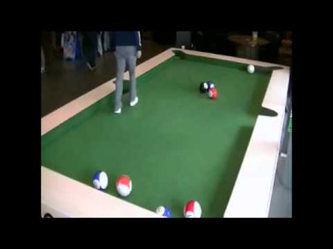 Soccer-Pool Table