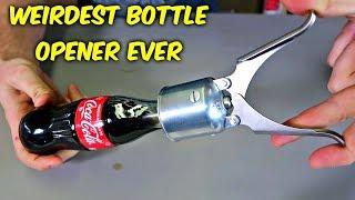 Weirdest Bottle Opener Ever Made!
