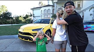 I SURPRISED my wife with a $300,000 CAR!! *She Cried*